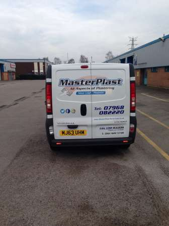 masterplast white van